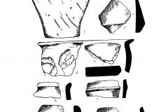 Рис.-2.-Подгорное.-1-–-сосуд-из-погребения-2-9-–-керамика-из-слоя-раскопа.-1-7-9-грубая-2-6-лощеная