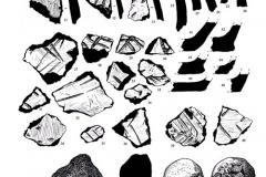 Рис. 2. Подъёмный материал с поселения Маянга-1