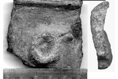 Рис. 16. Сосновка-1. Фрагмент керамики ивановской культуры