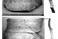 Рис. 18. Сосновка-1. Фрагменты керамики ивановской культуры