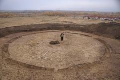11. Фотофиксация законченного раскопа кургана