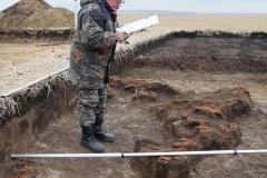 3. Чертежные работы на археологическом раскопе