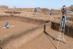 9. Фотофиксация археологического раскопа