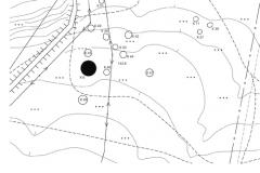 Рис. 1. Горбатый мост. План курганной группы