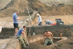 Раскопки могильников Криволучье-Ивановка I и Новопушкинское I. Фото 2.