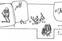 Рис.2 План погребений  Задоно-Авиловского могильника