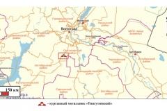 Рис. 1. Местоположение курганного могильника Тингутинский в Светлоярском районе Волгоградской области