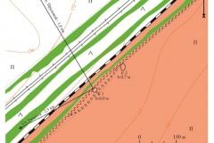 Рис. 2. План курганного могильника Тингутинский в Светлоярском районе Волгоградской области