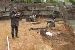 Исследования участка № 2 Самарского могильника.