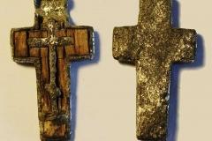 Нательный крест из Самарского могильника.