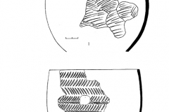 Рис. 4. Разнобрычка. Раскоп 1. Керамика, обнаруженная рядом с погребением 1