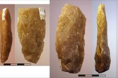 Рис. 13. Стоянка Непряхино, раскоп 2016 года. Горизонт К-IГ, бифасы