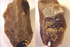Рис. 7. Стоянка Непряхино, раскоп 2016 года. Горизонт Б-IIГ, нуклеус