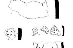 Рис. 12. Орошаемое. Раскоп 2. Керамика