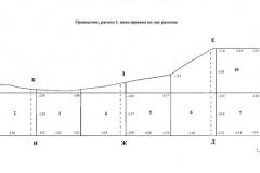 Рис. 3. Орошаемое. Планиграфия по дну раскопа 1