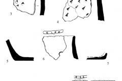 Рис. 8. Орошаемое. Раскоп 2. Керамика