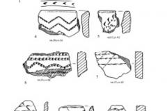 Рис. 10. Раскоп Орошаемое. Керамика из нижнего культурного слоя
