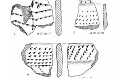 Рис. 18. Раскоп Алгай 1. Находки из стратиграфического горизонта 5 (слои 17, 18)