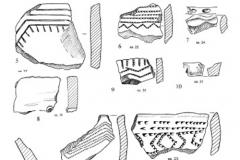 Рис. 26. Раскоп Алгай 1. Керамика из стратиграфического горизонта 6 (слой 23)