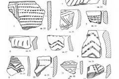 Рис. 28. Раскоп Алгай 1. Керамика из слоя 24