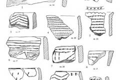 Рис. 30. Раскоп Алгай 1. Керамика из слоя 25