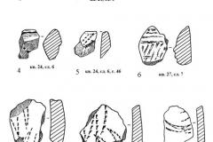 Рис. 5. Раскоп Орошаемое. Керамика верхнего культурного слоя
