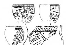 Рис. 9. Шапкино I (дюна 3). Керамика марьяновско-маклашеевского типа.
