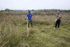 Подготовка раскопа