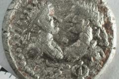 Античная монета из поселения Ильичёвка.