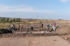 Сорокино 2 в процессе раскопок
