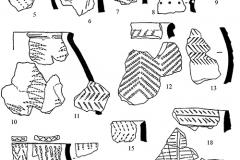 Рис. 4. Энеолитическая керамика 2-ой группы поселения Кумыска