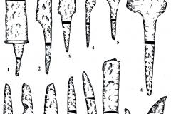 Рис. 17. Духовое. Изделия из железа (1-14)