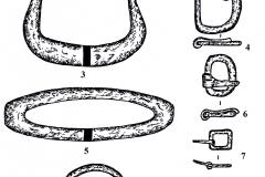 Рис. 22. Духовое. Изделия из железа (1-9)