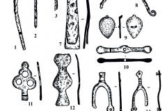 Рис. 23. Духовое. Изделия из железа (1-16)