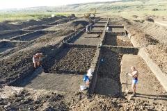 3. Ручная выемка грунта на раскопе