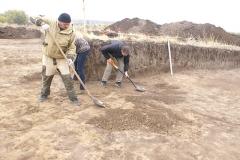 7. Зачистка раскопа