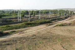 Охранно-спасательные раскопки у железнодорожного полотна