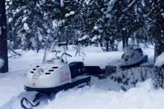 Средство передвижения по зимней тайге