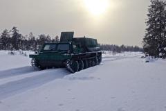 Транспорт при топосъемке в северных широтах