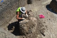 2. Расчистка археологического объекта