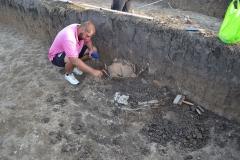 3. Расчистка археологического объекта