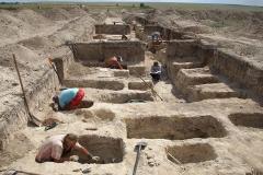 4. Расчистка археологических погребений