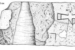 Рис. 3. Каменный блок с изображением креста