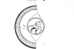 Рис. 7. Красноглиняная глазурированная чаша византийского производства