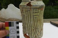 Сосуд-альбарелло-сделанный-в-Ширване