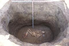 Погребение ямной культуры