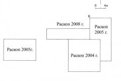 Рис. 2. Разнобрычка. Общий план расположения раскопов