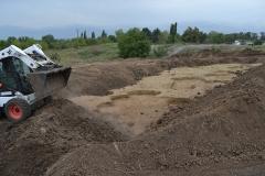 1. Рекультивация законченного участка раскопа