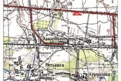 Рис. 1. Курганный могильник Репьевка 1 в Сызранском районе Самарской области