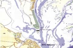 Рис. 1. Карта расположения Сабуровского грунтового могильника